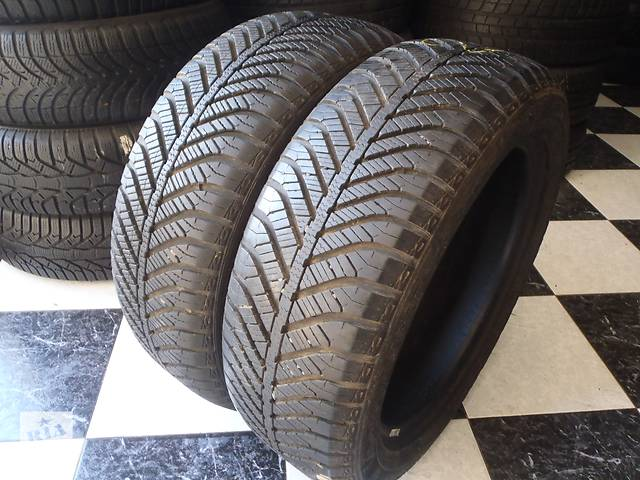 бу Б/у шины 195/55/R16 GoodYear Vector 4 Seasons 195/55/16 в Кременчуге