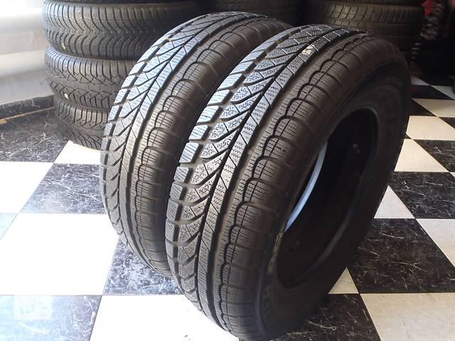 бу Б/у шины 195/65/R15 Dunlop Sp Winter Response 195/65/15 в Кременчуге