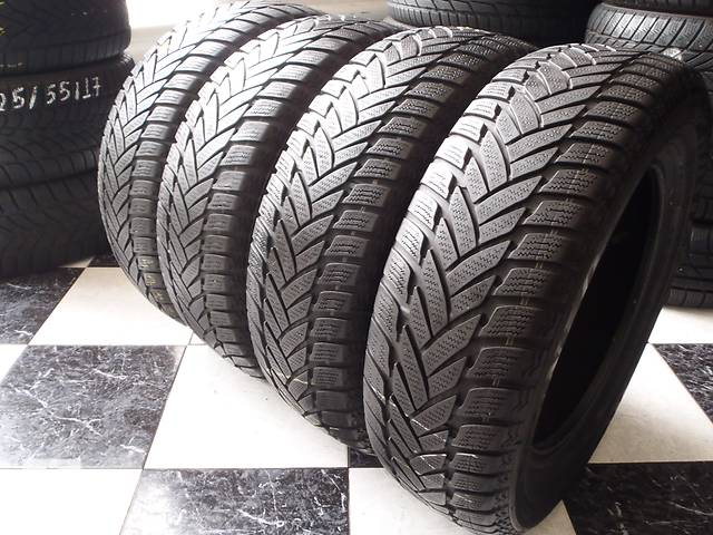 бу Б/у шины 195/65/R15 Dunlop Sp Winter Sport M3 195/65/15 в Кременчуге