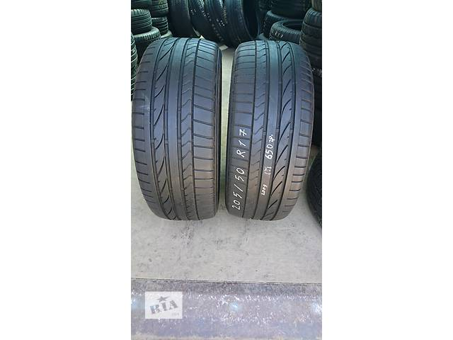 купить бу Б/у шины для легкового авто 205/50 R17 Bridgestone в Львове