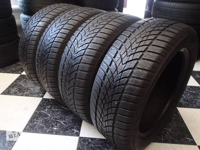 бу Б/у шины 205/55/R16 Dunlop Sp Winter Sport 4D 205/55/16 в Кременчуге