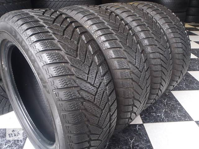 продам Б/у шины 205/55/R16 Dunlop Sp Winter Sport M3 Ran on Flad 205/55/16 бу в Кременчуге