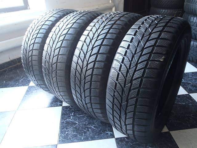 бу Б/у шины 205/55/R16 Hankook Winter Icept Evo RS  205/55/16 в Кременчуге