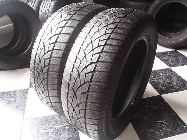 бу Б/у шины 205/60/R16 Dunlop Sp Winter Sport 3D  205/60/16 в Кременчуге