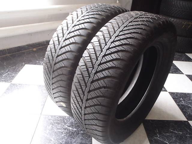 бу Б/у шины 215/60/R16 GoodYear Vector 4 Seasons  215/60/16 в Кременчуге