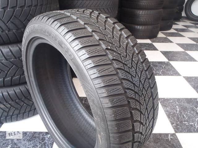 бу Б/у шины 225/45/R17 Dunlop Sp Winter Sport 4D  225/45/17 в Кременчуге