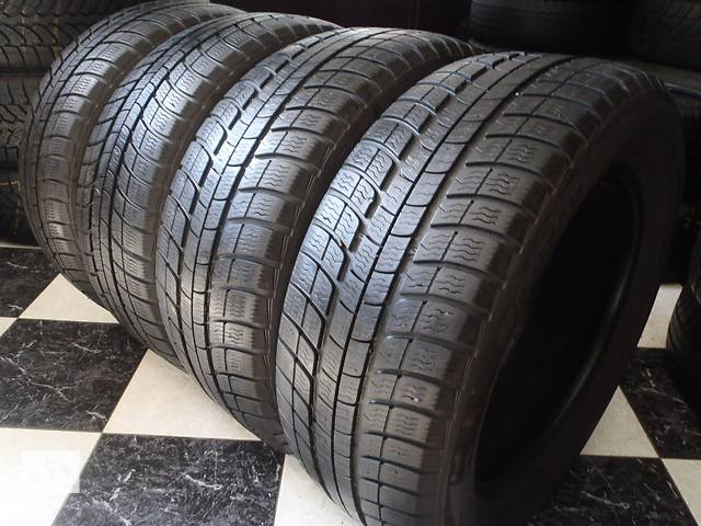 купить бу Б/у шины 225/55/R16 Michelin Pilot Alpin 225/55/16 в Кременчуге