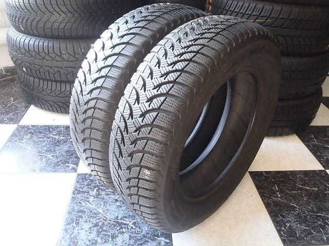 Б/у шины 2шт 165/70/R14  Michelin Alpin A4 165/70/14- объявление о продаже  в Кременчуге