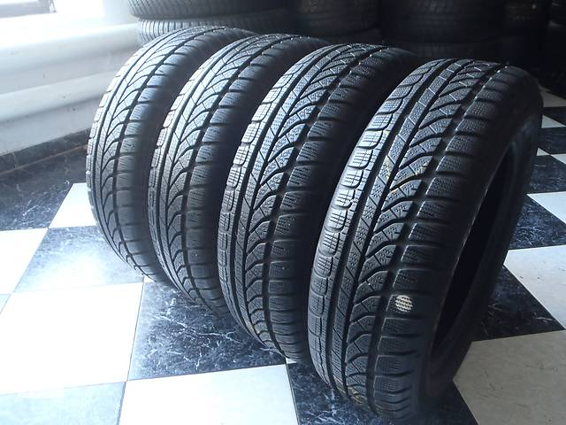 бу Б/у шины 175/65/R15 Dunlop Sp Winter Response 175/65/15 в Кременчуге