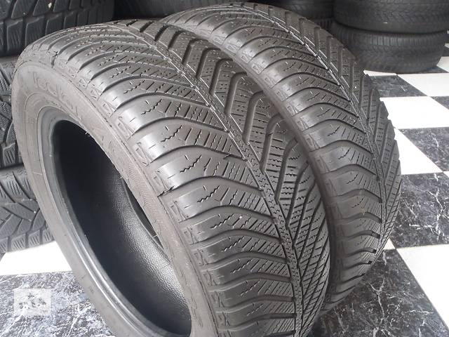 бу Б/у шины 2шт 185/60/R14 GoodYear Vector 4 Seasons 185/60/14 в Кременчуге