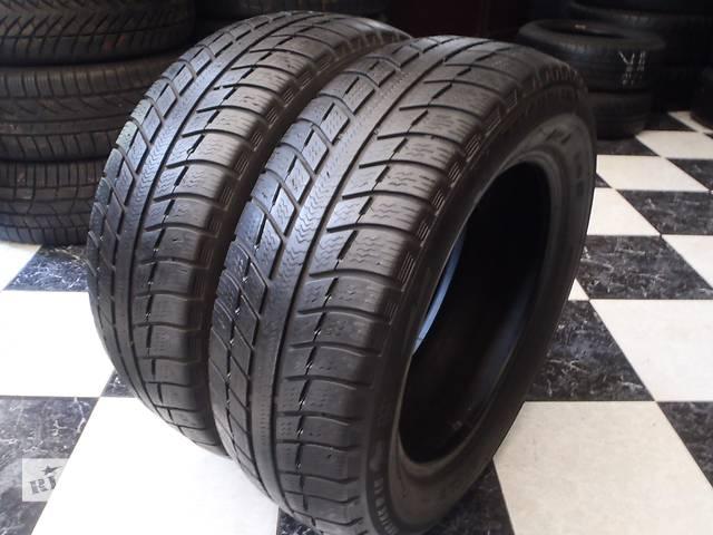 купить бу Б/у шины 2шт 185/65/R15 Michelin Alpin A3 185/65/15 в Кременчуге