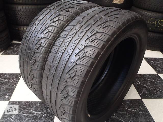 бу Б/у шины 2шт 215/55/R17 Pirelli SottoZero Winter 210 Serie 2 215/55/17 в Кременчуге