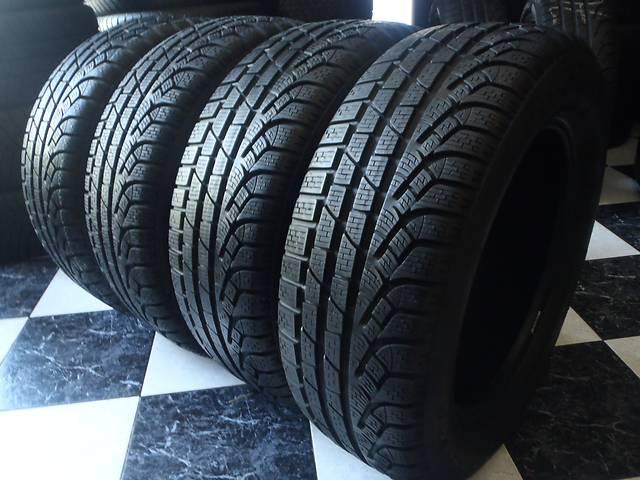 бу Б/у шины 2шт 215/60/R16 Pirelli SottoZero Winter 210 Serie 2   215/60/16 в Кременчуге
