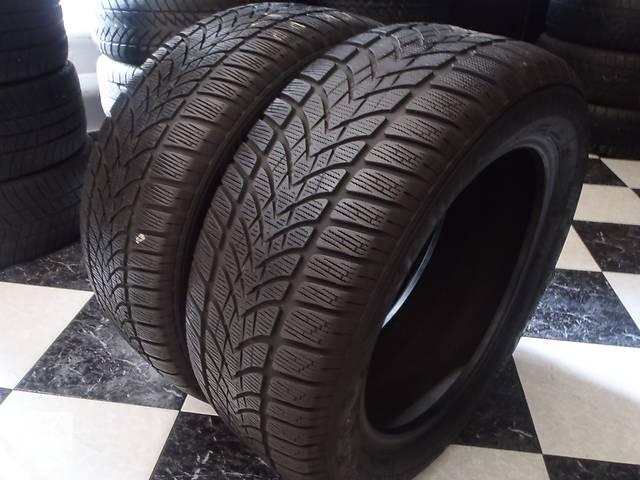 продам Б/у шины 2шт 225/55/R17 Dunlop Sp Winter Sport 4D  225/55/17 бу в Кременчуге