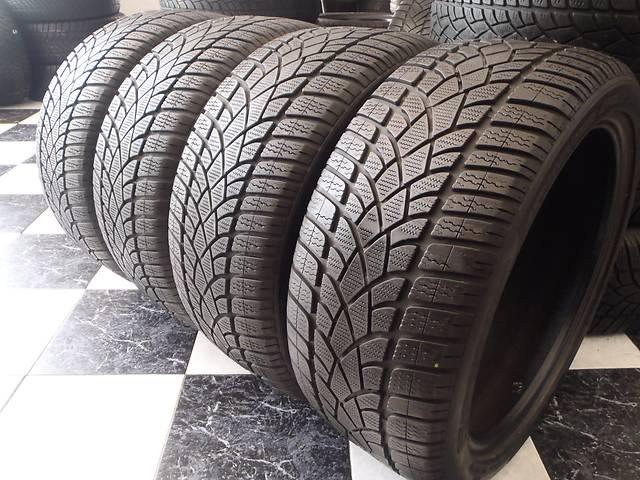 бу Б/у шины 2шт 245/40/R18 Dunlop Sp Winter Sport 3D  245/40/18 в Кременчуге