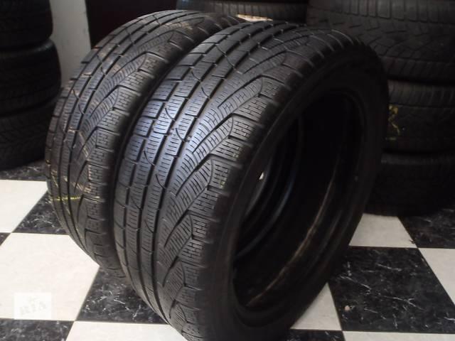 купить бу Б/у шины 2шт 245/45/R18 Pirelli SottoZero Winter 240 Serie2 Ran on Flat  245/45/18 в Кременчуге