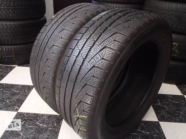 купить бу Б/у шины 2шт 245/50/R18 Pirelli SottoZero Winter 240 Serie2 Ran on Flat  245/50/R18 в Кременчуге