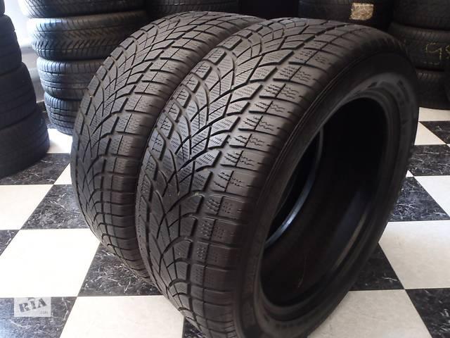 бу Б/у шины 2шт 255/45/R20 Dunlop Sp Winter Sport 3D  255/45/20 в Кременчуге