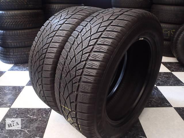 купить бу Б/у шины 2шт 255/55/R18 Dunlop Sp Winter Sport 3D   255/55/18 в Кременчуге