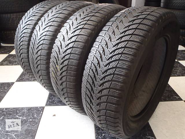 бу Б/у шины 2шт 205/55/R16 Michelin Alpin A4 205/55/16 в Кременчуге