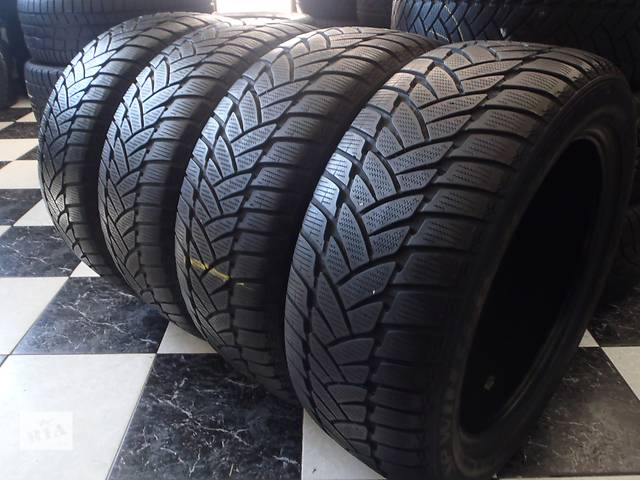 купить бу Б/у шины 4шт 225/50/R17 Dunlop Sp Winter Sport M3 Ran on Flat 225/50/17 в Кременчуге