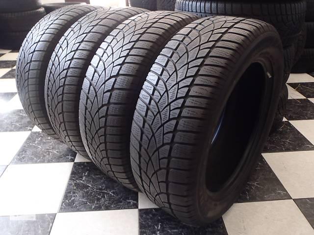 бу Б/у шины 4шт 235/55/R18 Dunlop Sp Winter Sport 3D  235/55/18 в Кременчуге