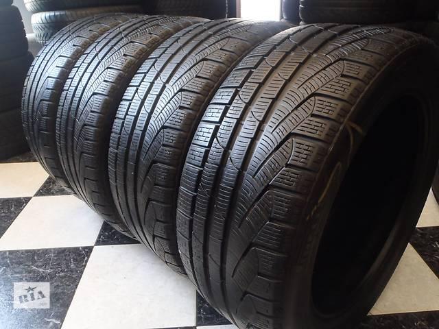 бу Б/у шины 4шт 245/45/R17 Pirelli SottoZero Winter 210 Serie 2  245/45/17 в Кременчуге