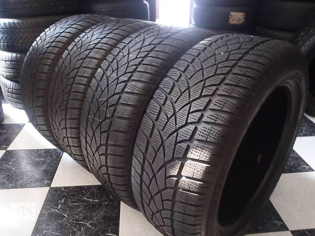 бу Б/у шины 4шт 245/50/R18 Dunlop Sp Winter Sport 3D Ran on Flat   245/50/18 в Кременчуге