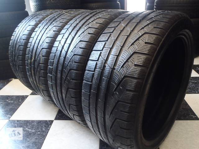 продам Б/у шины 4шт 255/40/R19 Pirelli SottoZero Winter 240 Seria 2   255/40/19 бу в Кременчуге