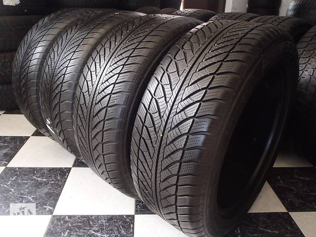 купить бу Б/у шины 4шт 255/50/R19 GoodYear Ultra Grip Wrangler Ran on Flad  255/50/19 в Кременчуге
