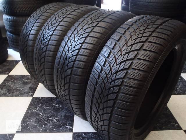 бу Б/у шины 8шт 205/55/R16 Dunlop Sp Winter Sport 4D 205/55/16 в Кременчуге