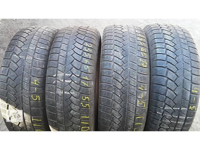 продам Б/у шины Continental 4x4 Winter Contact 235/65R17 зима 4 штуки. бу в Киеве