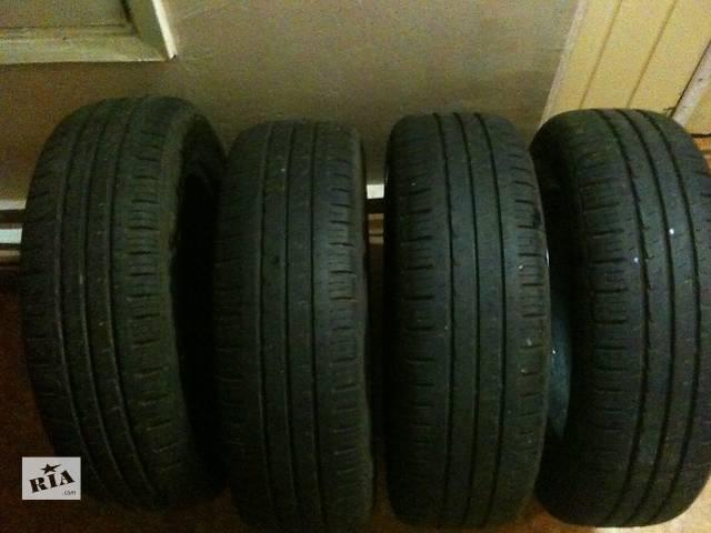 продам Б/у шины для  авто 195 65  16 лето  набок бу в Киеве