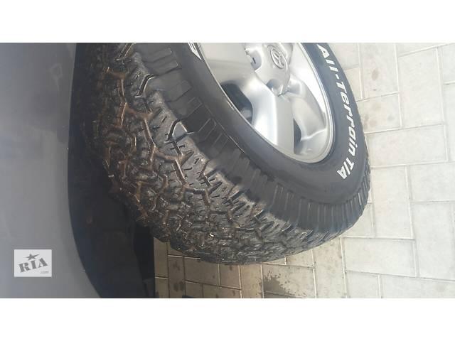 Б/у шины для кроссовера Toyota Land Cruiser (все)- объявление о продаже  в Великой Михайловке