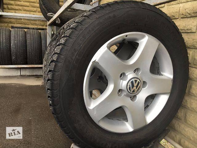бу Б/у шины для кроссовера Volkswagen Touareg 2014 в Запорожье