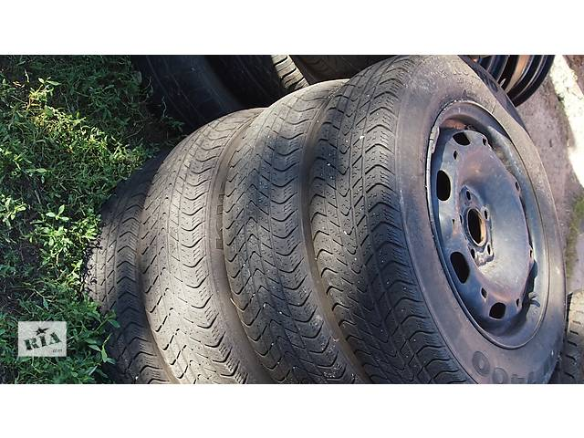 купить бу Б/у шины для легкового авто Skoda Fabia Combi в Полтаве