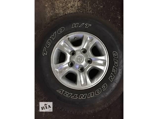 продам Б/у шины для легкового авто Toyota Land Cruiser 100 бу в Одессе