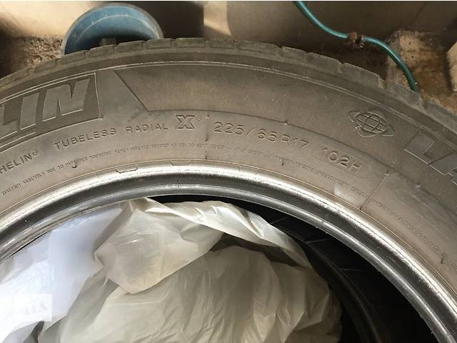 Б/у шины Michelin из Франции 225/65 R17- объявление о продаже  в Запорожье