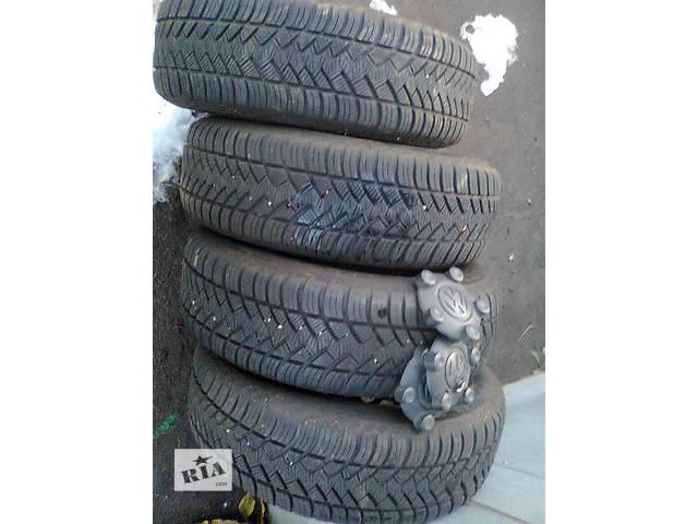 купить бу Б/у шины на дисках для легкового авто Volkswagen Caddy в Киеве