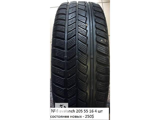 Б/у шины R16 зима для легкового авто- объявление о продаже  в Одессе
