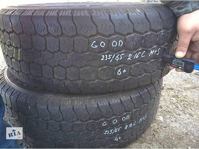 Б/у goodyear 235/65 r16с m+s- объявление о продаже  в Одессе