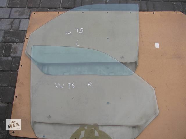 бу Б/у скло дверей для легкового авто Volkswagen T5 (Transporter) в Яворове (Львовской обл.)