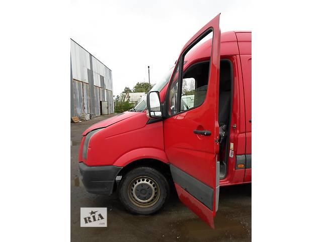 купить бу Б/у Скло передніх дверей Стекло Volkswagen Crafter Фольксваген Крафтер 2.5 TDI 2006-2012 в Рожище