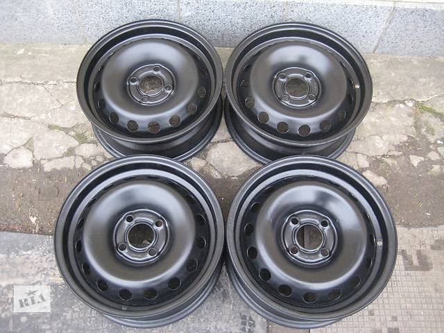 Б/у стал.диски для легкового авто Renault Megane-II,R15,6,5J*15,4*100,ET50,D=60,1- объявление о продаже  в Житомире