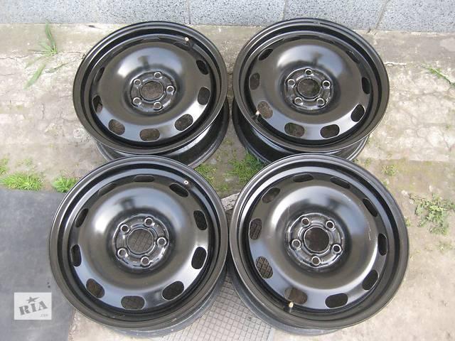 бу Б/у стал..диски для легкового авто Volkswagen Caddy,R15,6J*15,5*112,ET47,D=57,1 в Житомире