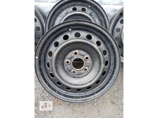 продам Б/у стальные диск для легкового авто Mitsubishi Lancer X бу в Харькове