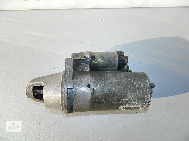 Б/у стартер/бендикс/щетки для легкового авто Nissan 100NX (B13) 2.0 1991-1994г.- объявление о продаже  в Буче (Киевской обл.)