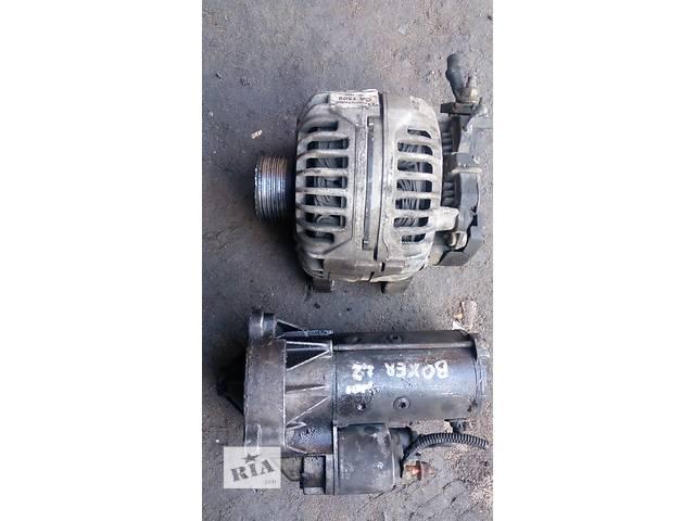 купить бу Б/у стартер/бендикс/щетки для легкового авто Peugeot Boxer 2,2HDI в Луцке