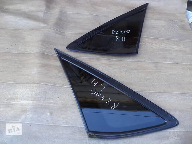 купить бу Б/у стекло багажного отделения 62710-48170, 62720-48230 для кроссовера Lexus RX 400H 2007г в Киеве