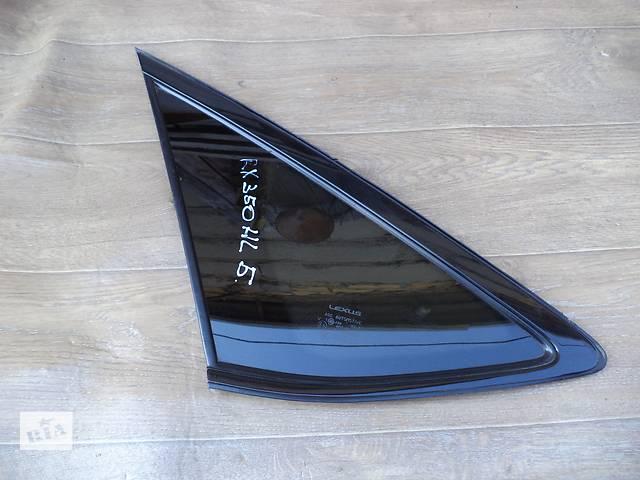 Б/у стекло багажного отделения левое 62720-48230 для кроссовера Lexus RX 350 2007г- объявление о продаже  в Николаеве